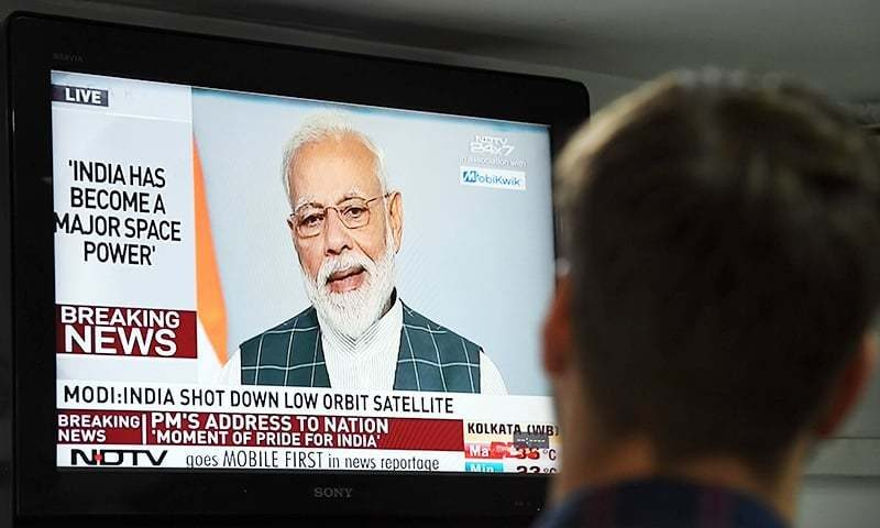 India shoots down satellite, joins space superpowers: Modi