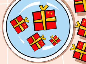 India to rein in China's gift horse