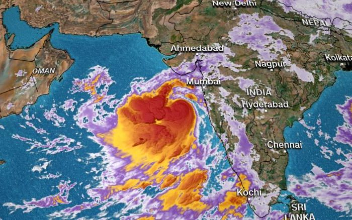 Millions in Northwest India face tropical cyclone threat