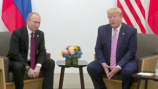 Trump gives Putin light-hearted warning: 'Don't meddle in the election'