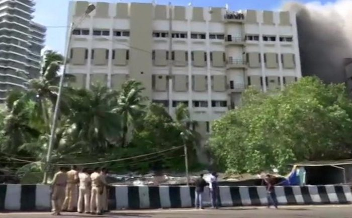 Fire at MTNL building Mumbai, 100 feared trapped | Live updates