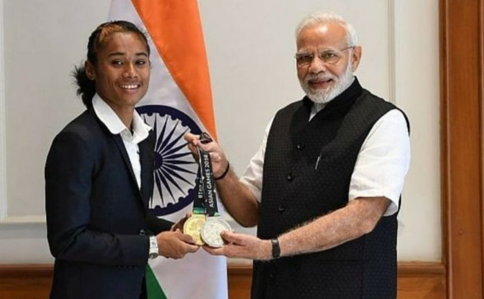 I will continue to work hard and bring more medals for India: Hima Das promises PM Modi