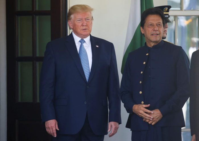 Trump says U.S. working with Pakistan to find way out of Afghan war