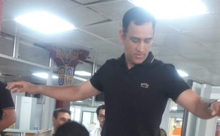 Lieutenant Colonel MS Dhoni completes 15-day Army stint, spotted at Leh airport