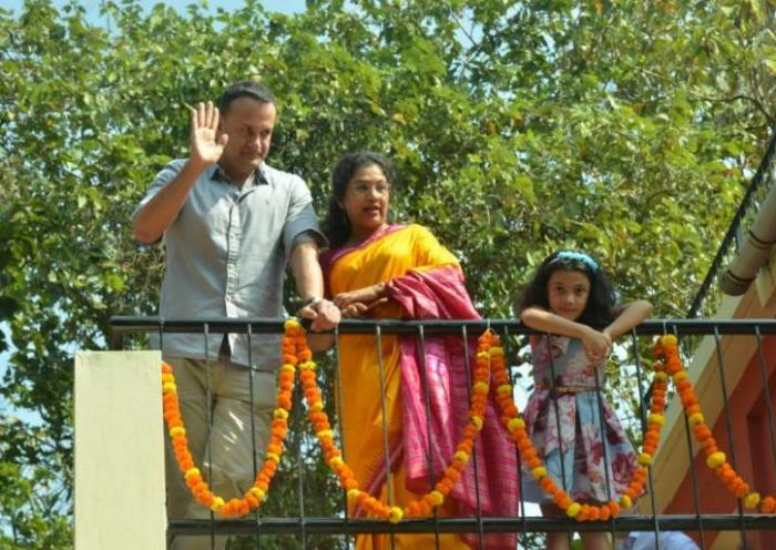 'A very special moment' - Varadkar celebrates the new year in India