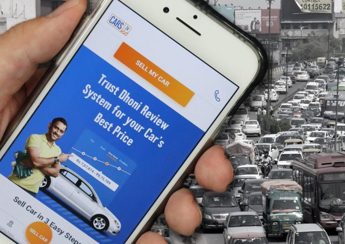 Tech startup transforms India's scattered used-car market