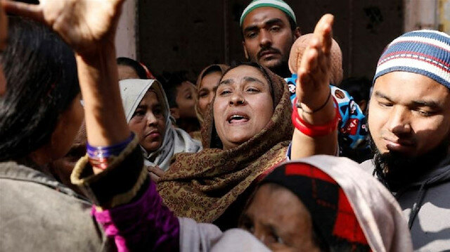 Indian families blame police for deaths during protests
