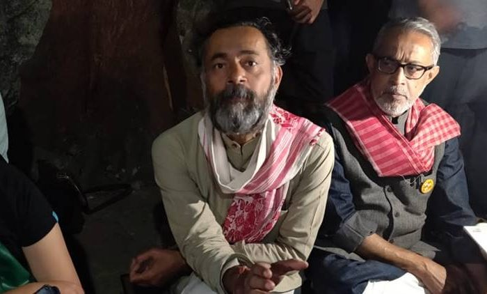 CAA-NRC-NPR are a package deal: Yogendra Yadav at TISS