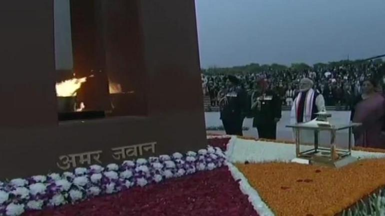 India gets its war memorial, PM Modi leads a mourning nation to honour its martyrs